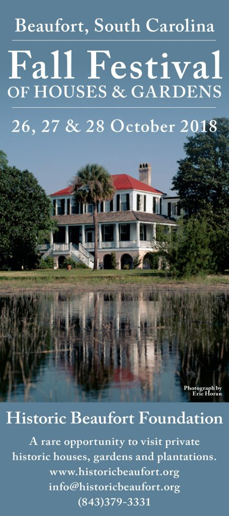 2018 Fall Festival Of Homes and Gardens - Historic Beaufort Foundation