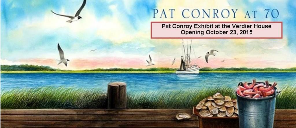 Pat Conroy exhibit boat big