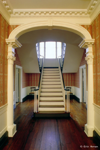 Vedier entry arch-stairs-C